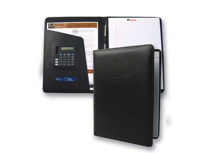 1023 - Dakar Desk Folder with Calculator