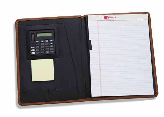 1060 - Eagle Senior Desk Folder w/ Calculator