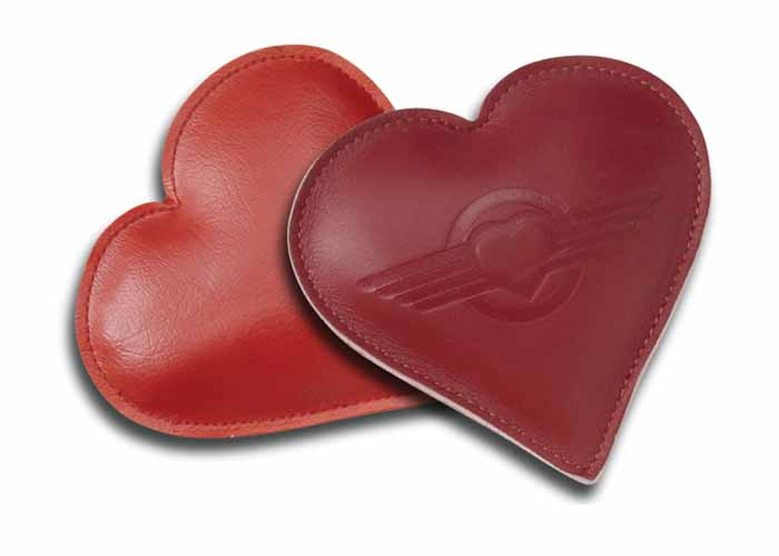 2531 - Heart Shaped Paperweight