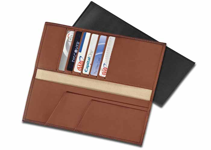 7062 - Top-Shelf Passport, Card and Document Holder