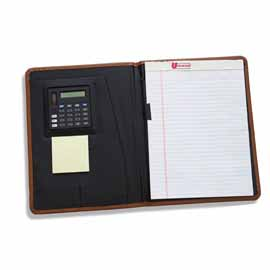 Eagle Senior Desk Folder w/ Calculator