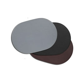 """14 x 20"""" Oval Desk Pad/Placemat"""