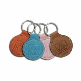 "2"" Stitched Circle Tag"